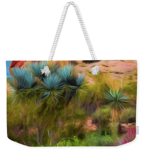 Papago Dreams Weekender Tote Bag