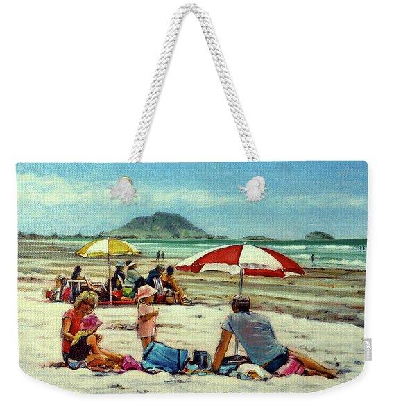 Papamoa Beach 150309 Weekender Tote Bag