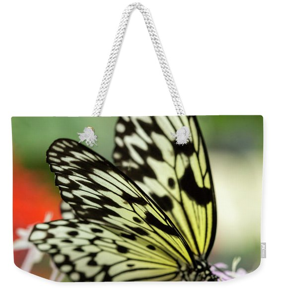 Paper Kite Butterfly Weekender Tote Bag