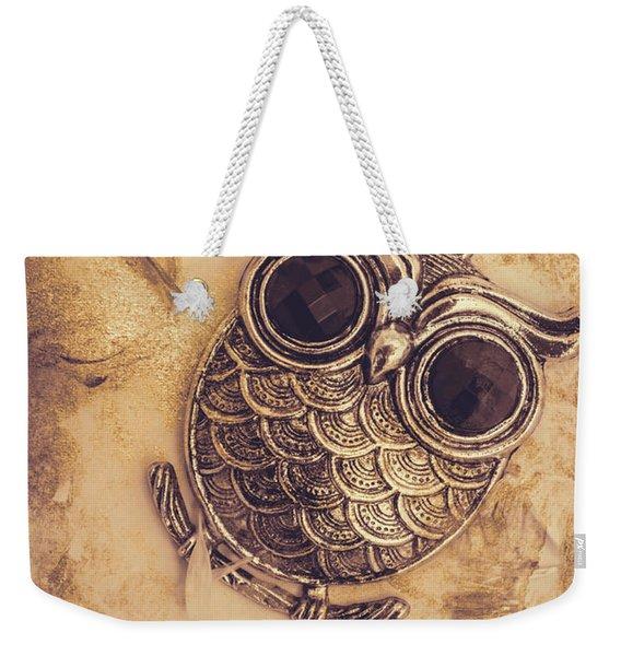 Paper Pendant Owl Weekender Tote Bag