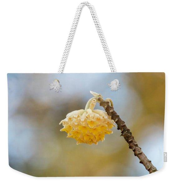 Paperbush Flower Weekender Tote Bag