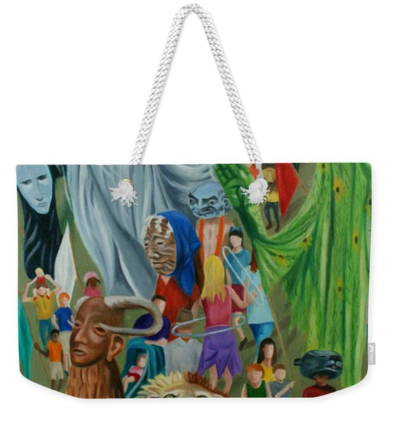 Paperhand Puppet Parade Weekender Tote Bag