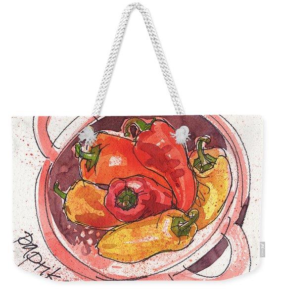 Paprika Weekender Tote Bag