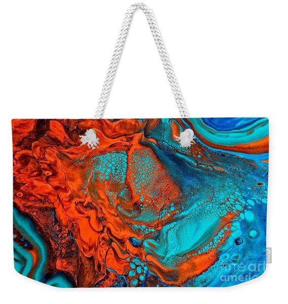 Paprika Plains Weekender Tote Bag