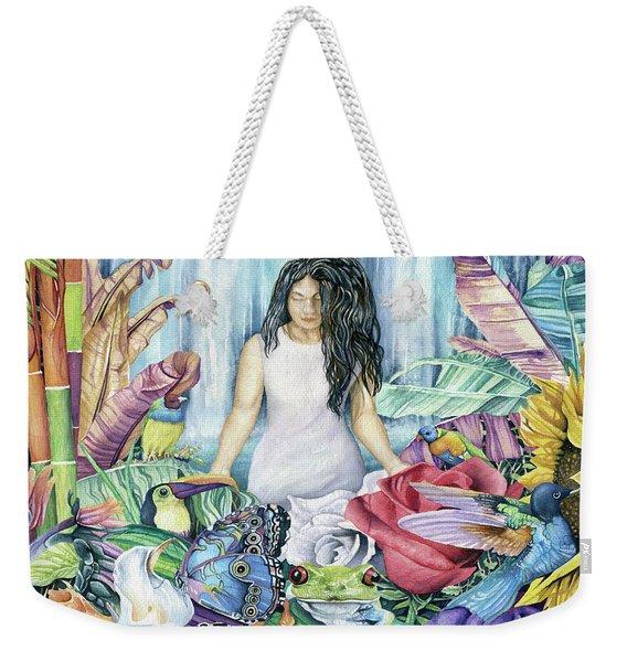 Paradise Garden Weekender Tote Bag