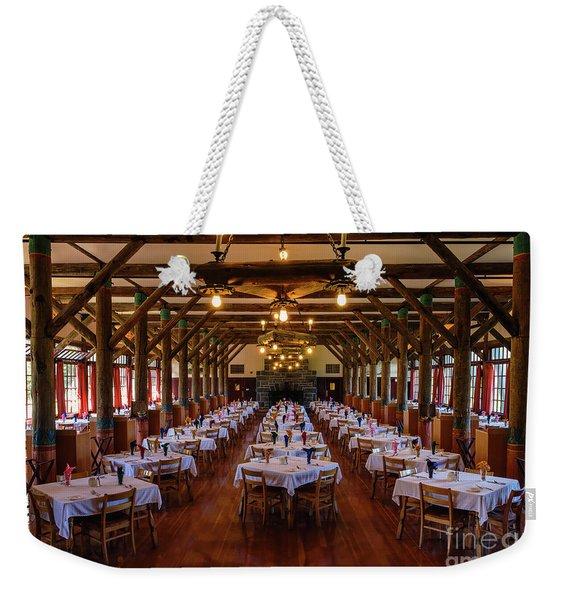 Paradise Inn Dining Room Weekender Tote Bag