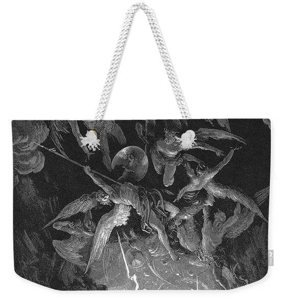 Paradise Lost  The Fall Of Man Weekender Tote Bag