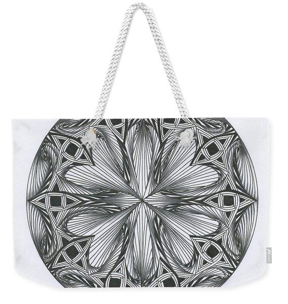 Paradoxical Zendala Weekender Tote Bag
