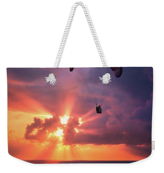 Crack The Skye Weekender Tote Bag