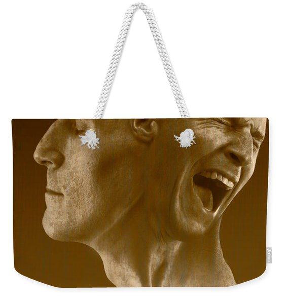 Paranoid Schizophrenia Weekender Tote Bag