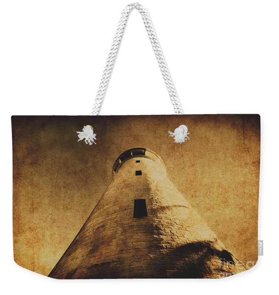 Parchment Paper Lighthouse Weekender Tote Bag