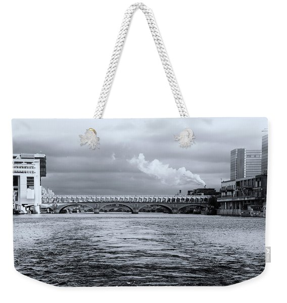 Paris 1 Weekender Tote Bag