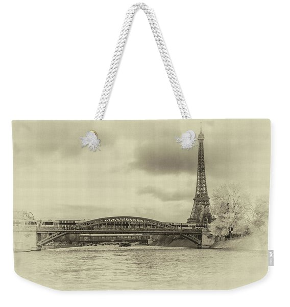 Paris 2 Weekender Tote Bag