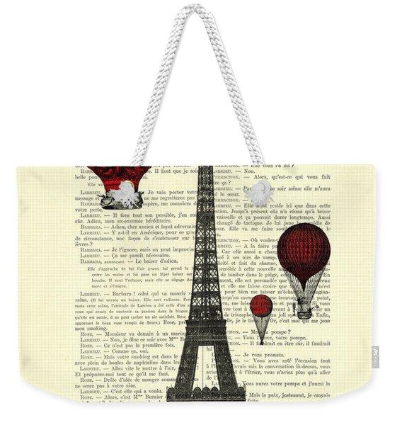 Paris, City Of Love Weekender Tote Bag
