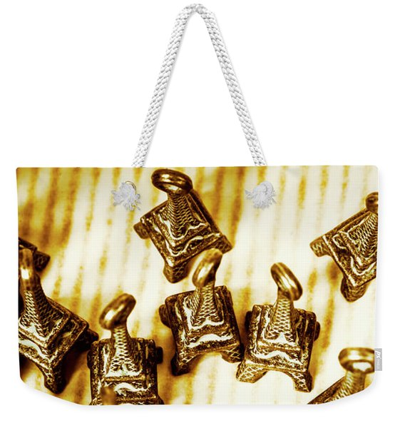 Paris Market Pendants Weekender Tote Bag