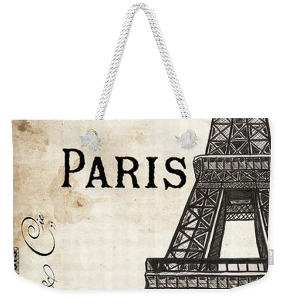 Paris, Ooh La La 1 Weekender Tote Bag