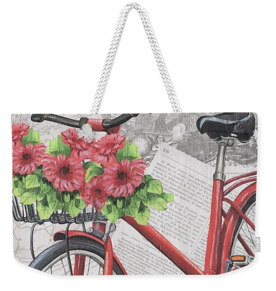 Paris Ride 2 Weekender Tote Bag