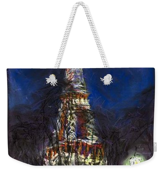 Paris Tour Eiffel Weekender Tote Bag