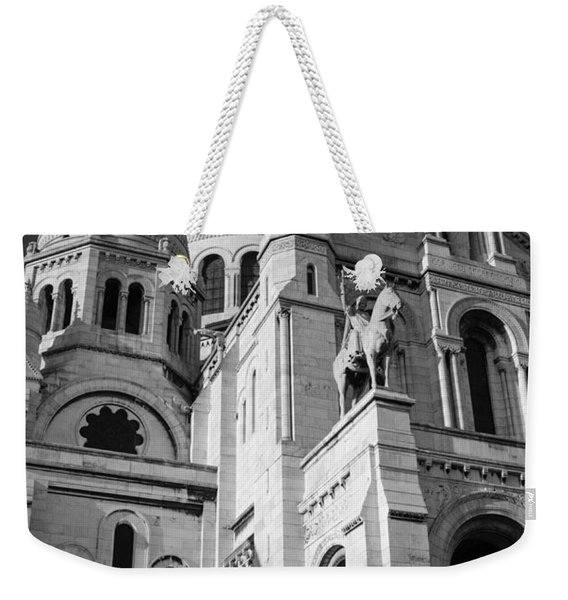 Paris Visit To Sacre Coeur Cathedral Weekender Tote Bag