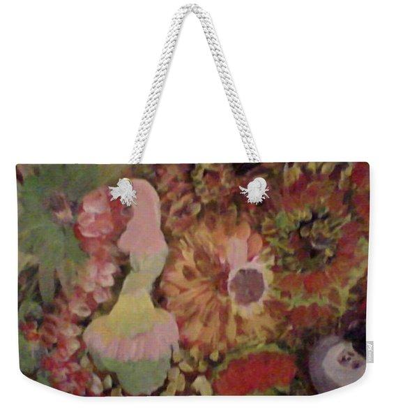 Parisian Ladies In The Garden Weekender Tote Bag
