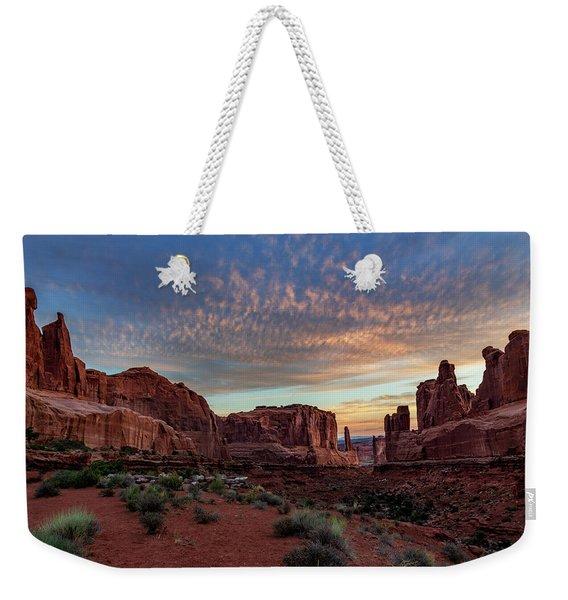 Park Avenue Sunrise Weekender Tote Bag