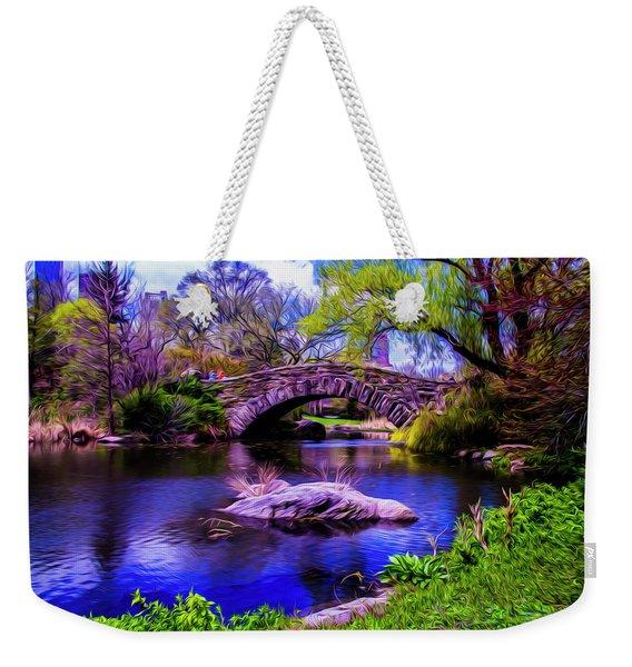 Park Bridge Weekender Tote Bag