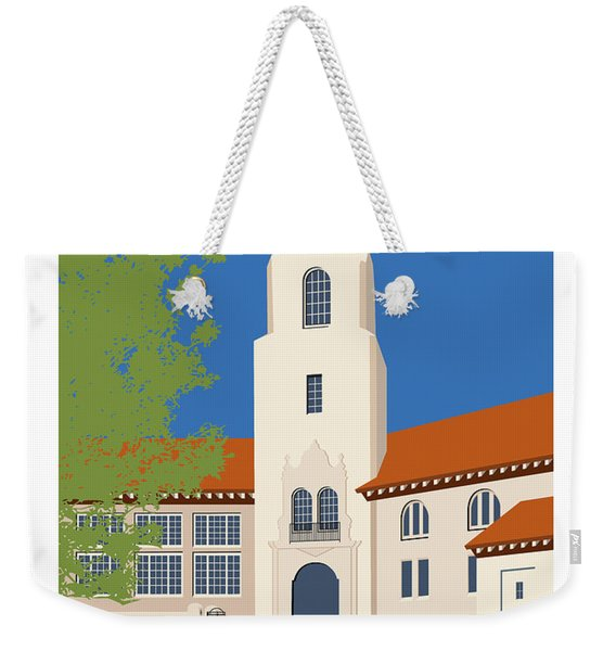 Park Hill Blue Weekender Tote Bag