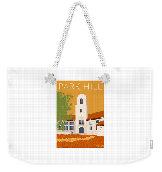 Park Hill Gold Weekender Tote Bag