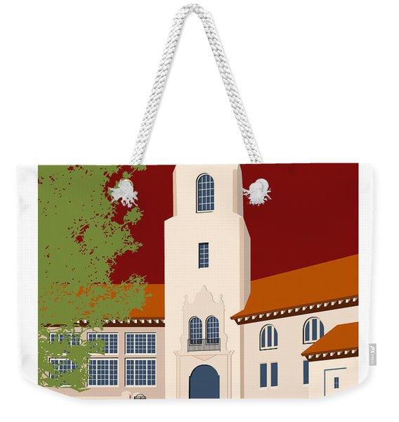 Park Hill Maroon Weekender Tote Bag
