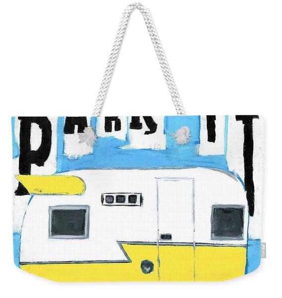 Park It-yellow Weekender Tote Bag