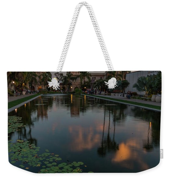 Park Place Saturday Night Weekender Tote Bag