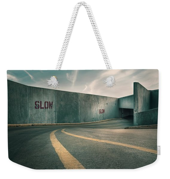 Parking Garage At The End Of The World Weekender Tote Bag
