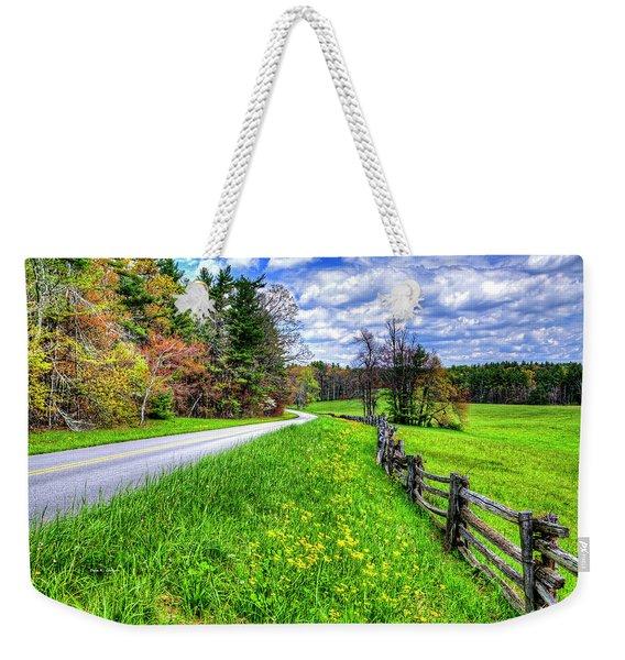 Parkway Spring Weekender Tote Bag