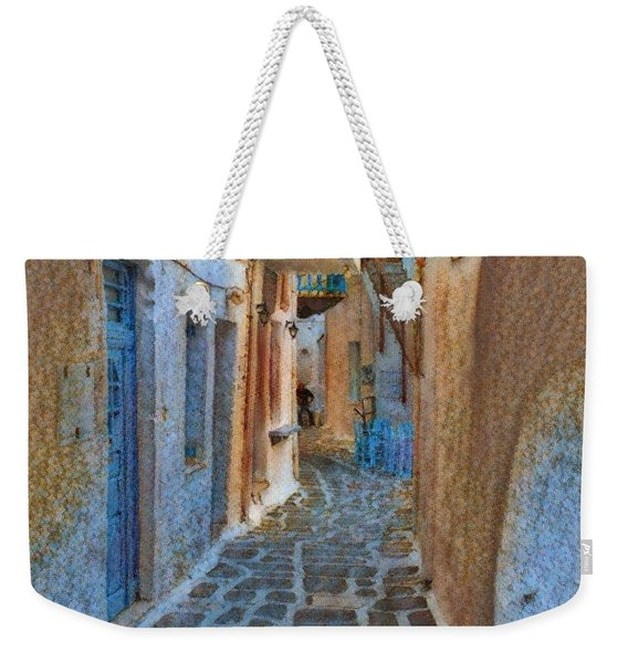 Paros Beauty Island Greece  Weekender Tote Bag