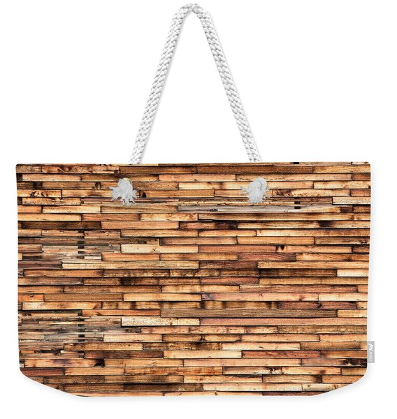 Parquet Wood Pattern Weekender Tote Bag