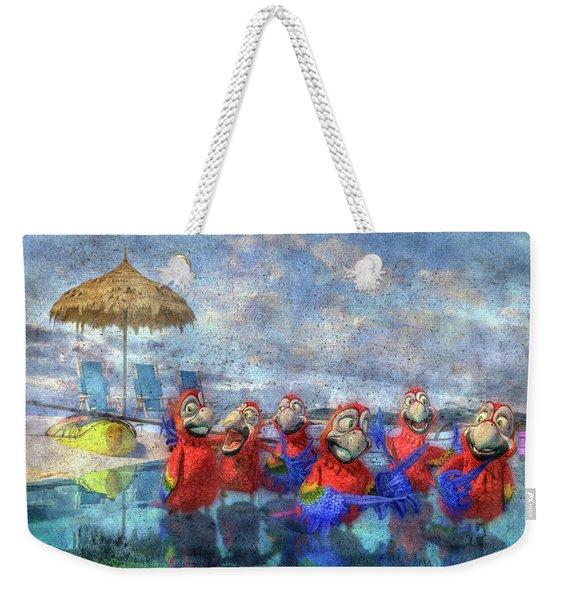 Parrots In Paradise Weekender Tote Bag