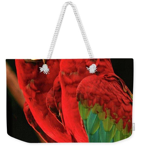 Parrots Weekender Tote Bag