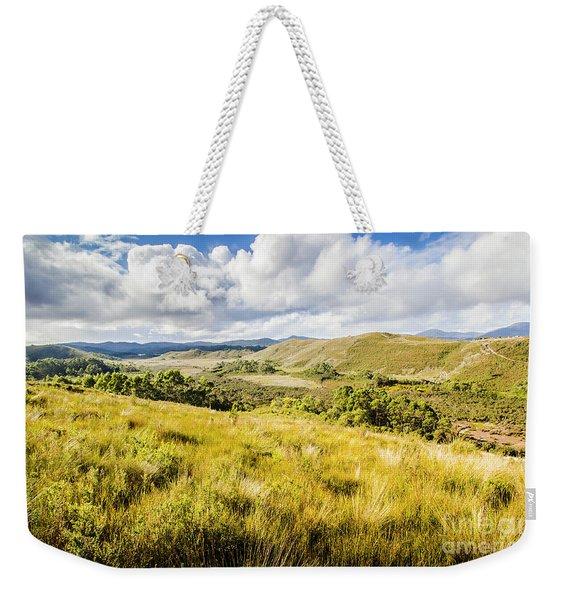Parting Creek Regional Reserve Tasmania Weekender Tote Bag