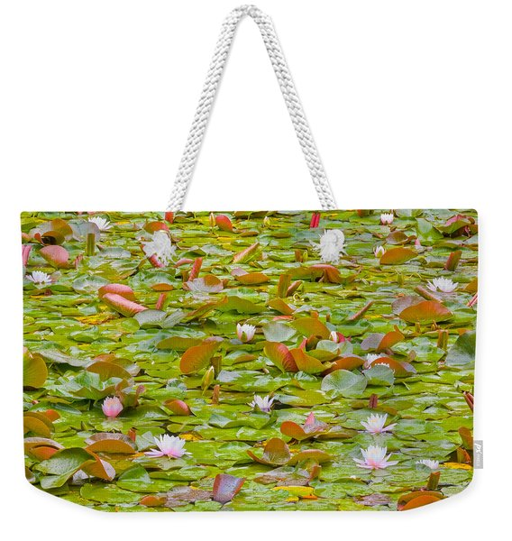 Party At Kaloya Pond Weekender Tote Bag