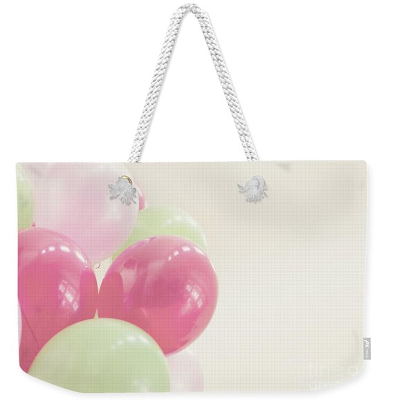 Party Balloons Weekender Tote Bag