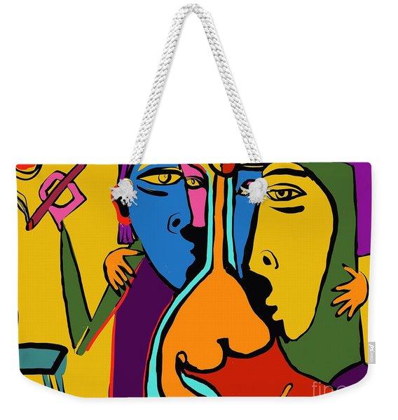 Party Girl Weekender Tote Bag
