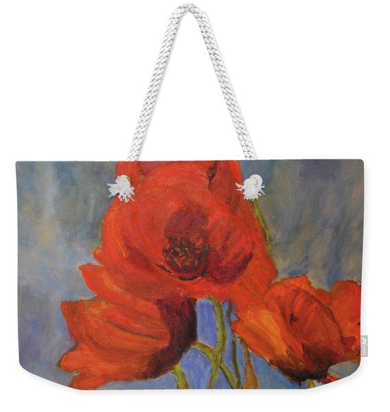 Pas De Poppies Weekender Tote Bag
