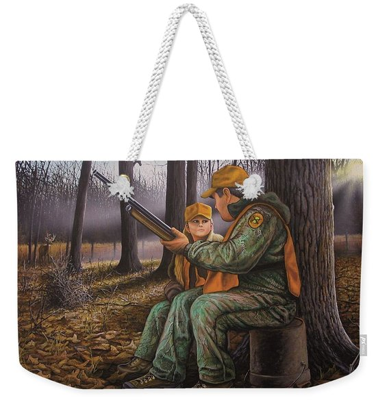 Pass It On - Hunting Weekender Tote Bag