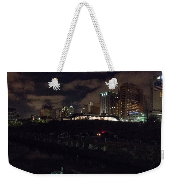 Passaic West Bank Weekender Tote Bag