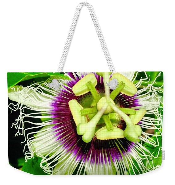 Passion Flower 1 Weekender Tote Bag