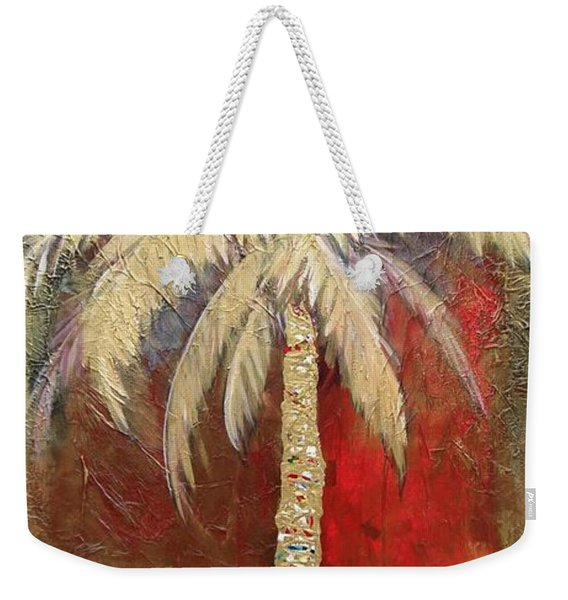 Passion Palm Weekender Tote Bag