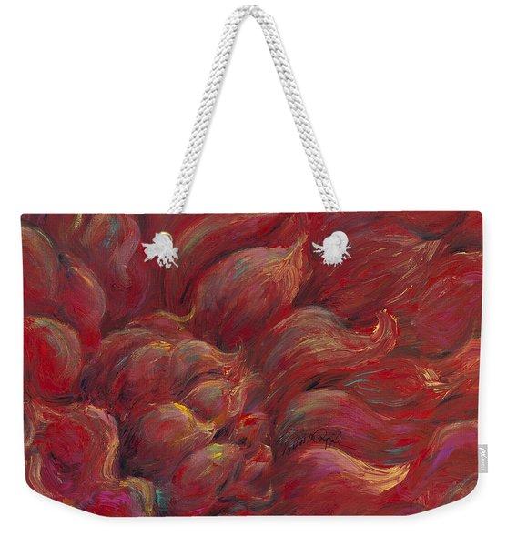 Passion V Weekender Tote Bag