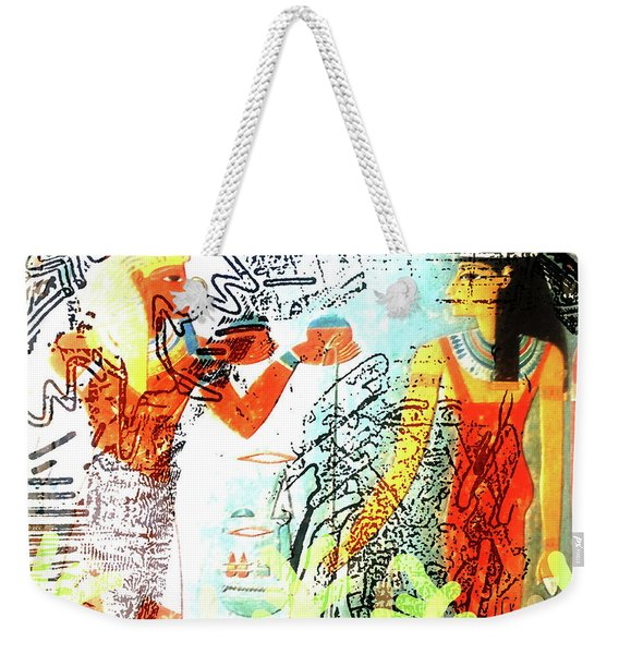 Past And Present Dream Weekender Tote Bag