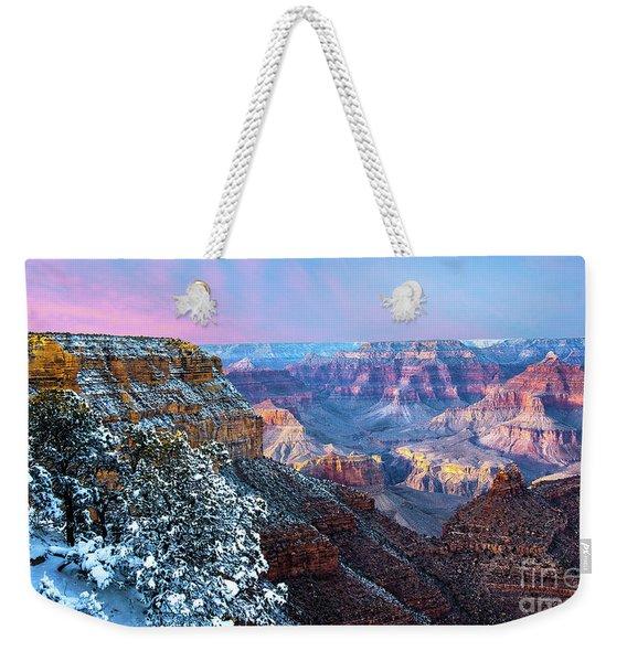 Pastel Canyon Weekender Tote Bag