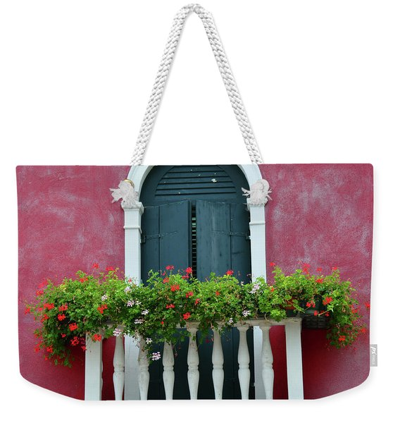Pastel Colors Of Burano  Weekender Tote Bag